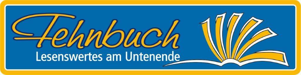Logo Fehnbuch 4C - Text und Motiv, K - 01